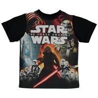 Tricou Star Wars Wars Force Awakens pentru Bebelusi