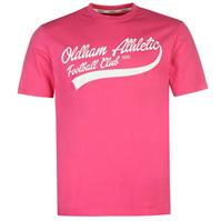 Tricou Team Oldham Athletic clasic pentru Barbati