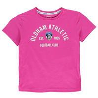 Tricou Team Oldham Athletic Est baietei