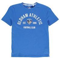 Tricou Team Oldham Athletic Est pentru baietei