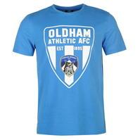 Tricou Team Oldham Athletic imprimeu Graphic pentru Barbati