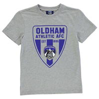 Tricou Team Oldham FC imprimeu Graphic pentru baietei