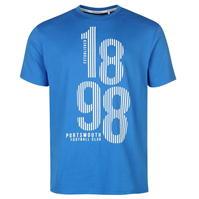 Tricou Team Portsmouth Print pentru Barbati