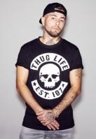 Tricou Thug Life Skull negru Mister Tee