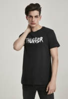 Tricou Thugger Childrose negru Merchcode
