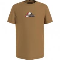Tricou Tommy Hilfiger Tommy Hilfiger Mountain vintage grl