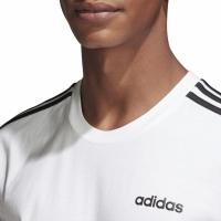 Tricou adidas Essentials 3 Stripes alb DU0441 barbati