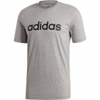 Tricou Adidas M imprimeu Graphic Linear 3 barbati gri EI4580