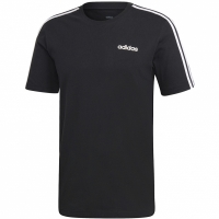 Tricou barbati adidas Essentials 3 Stripes negru DQ3113