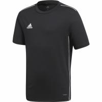 Tricou sport antrenament Adidas Core 18 negru CE9020 copii pentru teamwear adidas teamwear