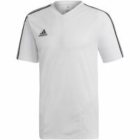 Tricou sport antrenament Adidas Tiro 19 alb DT5288 barbati teamwear adidas teamwear