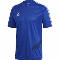 Tricou Tricou sport antrenament Adidas Tiro 19 albastru DT5285