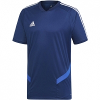 Tricou sport antrenament Adidas Tiro 19 bleumarin DT5286 barbati teamwear adidas teamwear