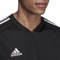 Tricou sport antrenament Adidas Tiro 19 negru DT5287 barbati teamwear adidas teamwear
