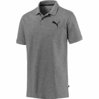 Tricou Tricouri polo barbati Puma Essentials Pique gri 851759 23