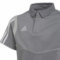 Tricou Tricouri polo For Adidas Tiro 19 bumbac gri DW4737 pentru copii adidas teamwear pentru femei