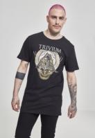 Tricou Trivium Triangular War negru Merchcode