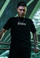 Tricou Tupac Back negru Mister Tee