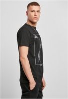Tricou Tupac Changes Back negru Mister Tee