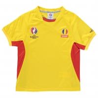 Tricou UEFA EURO 2016 Romania Poly pentru baieti pentru copii