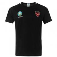 Tricou UEFA Euro 2020 Germania Poly negru