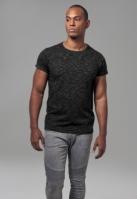 Tricou urban negru-alb Urban Classics