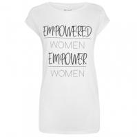 Tricou USA Pro Empowered Slogan pentru Femei pentru Femei