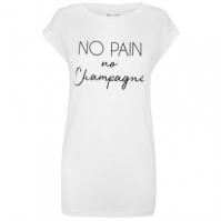 Tricou USA Pro No Pain Slogan pentru Femei