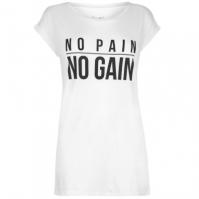 Tricou USA Pro Slogan pentru Femei