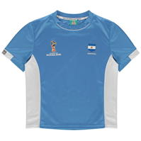 Tricou FIFA Cupa Mondiala 2018 Rusia Argentina Poly pentru copii