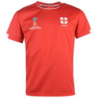 Tricou FIFA Cupa Mondiala 2018 Rusia Anglia Poly pentru Barbati