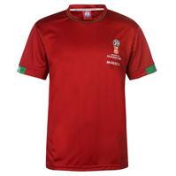 Tricou FIFA World Cup Russia 2018 Morocco Poly pentru Barbati