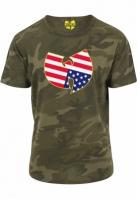 Tricou Wu-Wear American Camo camuflaj