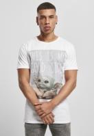Tricou Yoda Good Side pentru Bebelusi alb Merchcode