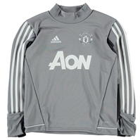 Tricouri antrenament adidas Manchester United pentru baietei