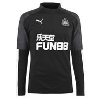 Tricouri antrenament Puma Newcastle United Quarter cu fermoar pentru Barbati