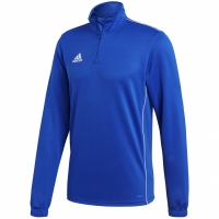 Bluza trening antrenament Adidas CORE 18 albastru CV3998 barbati teamwear adidas teamwear