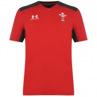 Tricouri antrenament Under Armour Wales Rugby 2019 2020 pentru Barbati
