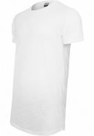 Tricouri bumbac lungi alb Urban Classics