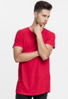 Tricouri bumbac lungi foc-rosu Urban Classics