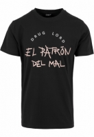 Tricouri cu mesaje funny El Patron Del Mal negru Mister Tee