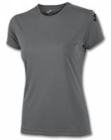 Tricouri Joma bumbac T- Anthracite cu maneca scurta pentru Femei