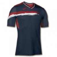 Tricouri Joma Picasho T- tenis bleumarin-rosu cu maneca scurta