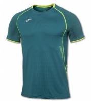 Tricouri Joma T- alergare verde cu maneca scurta
