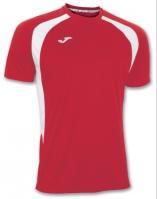 Tricouri Joma T- Champion III rosu-alb cu maneca scurta