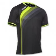 Tricouri Joma T- alergare negru cu maneca scurta