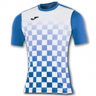 Tricouri Joma T- Flag Royal-alb S/l