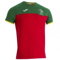 Tricouri Joma T- Hotel Co Portugal rosu-verde cu maneca scurta R