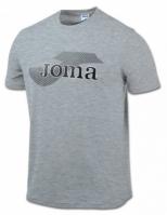 Tricouri Joma T- Invictus Light gri cu maneca scurta