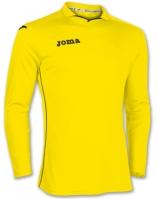 Tricouri Joma T- Rival galben cu maneca lunga